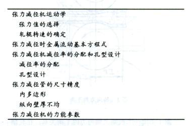 熱軋鋼管張力減徑變形原理 技術信息 第1張